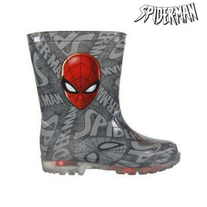 Children's Water Boots with LEDs Spiderman 72768-Universal Store London™