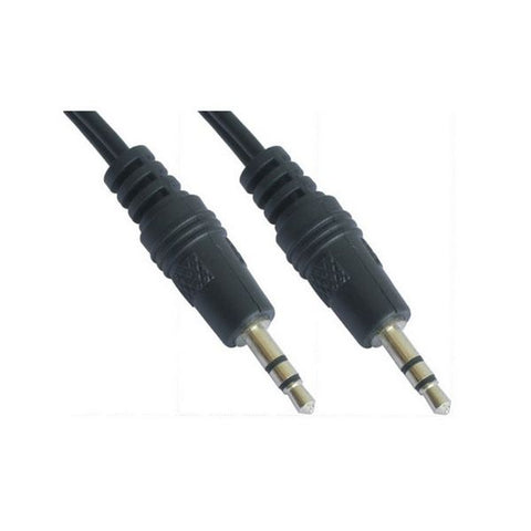 Audio Jack Cable (3.5mm) NANOCABLE 10.24.0100 0,3 m Male to Male Connector-Universal Store London™