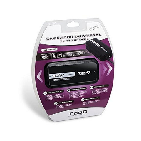 Laptop Charger TooQ TQLC-90BS02AT 90W Black-Universal Store London™