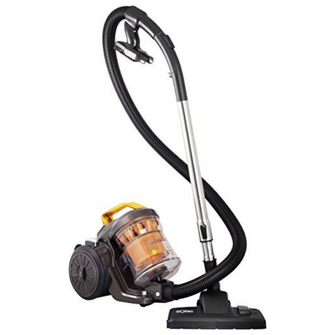 Multi-Cyclonic Vacuum Cleaner Solac AS3252 3 L 800W 80 dB (A) Orange Black-Universal Store London™