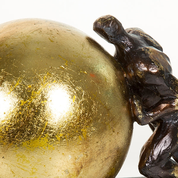 Decorative Figure Resin Gold (23 x 13 x 17 cm) by Homania-Universal Store London™