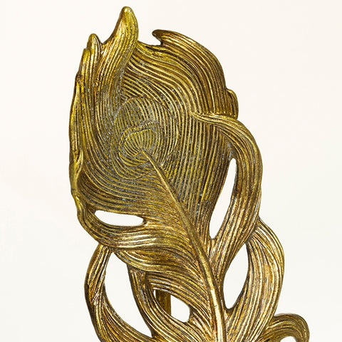 Image of Decorative Figure Resin Gold (17 x 11 x 41 cm) by Homania-Universal Store London™