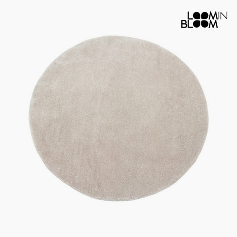 Image of Carpet Acrylic Beige (90 x 90 x 3 cm) by Loom In Bloom-Universal Store London™
