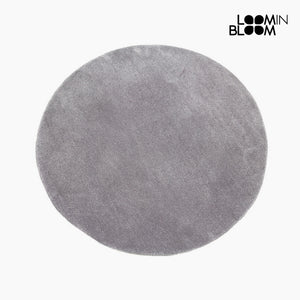 Carpet Acrylic Grey (90 x 90 x 3 cm) by Loom In Bloom-Universal Store London™
