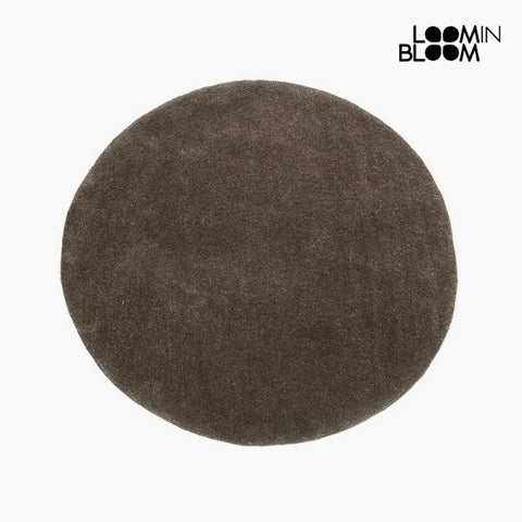 Carpet Acrylic Brown (90 x 90 x 3 cm) by Loom In Bloom-Universal Store London™