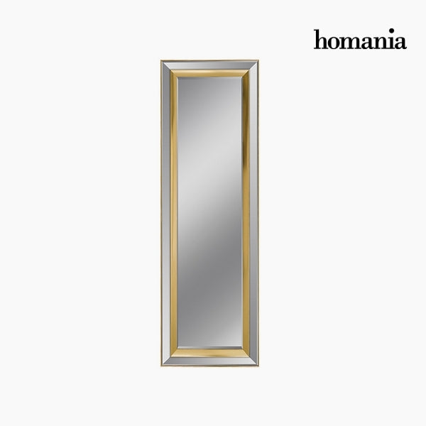 Mirror Synthetic resin Bevelled glass Silver Golden (65 x 3 x 185 cm) by Homania-Universal Store London™