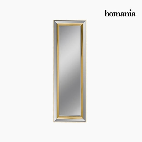 Image of Mirror Synthetic resin Bevelled glass Silver Golden (65 x 3 x 185 cm) by Homania-Universal Store London™