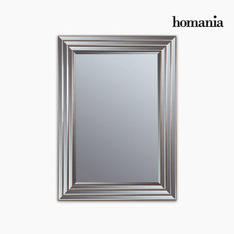 Mirror Synthetic resin Bevelled glass Silver Golden (82 x 3 x 112 cm) by Homania-Universal Store London™