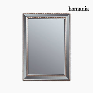 Mirror Synthetic resin Bevelled glass Silver Golden (76 x 3 x 106 cm) by Homania-Universal Store London™