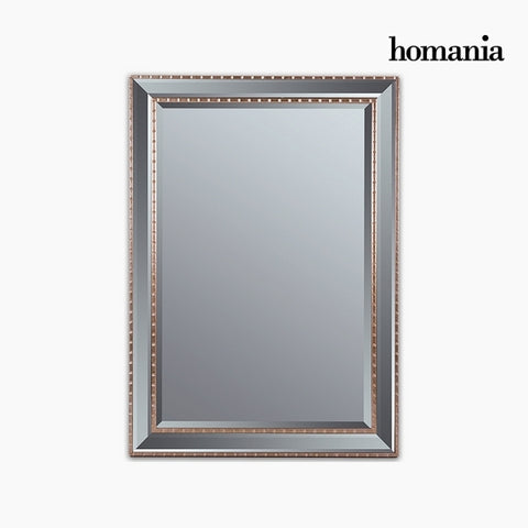 Image of Mirror Synthetic resin Bevelled glass Silver Golden (76 x 3 x 106 cm) by Homania-Universal Store London™