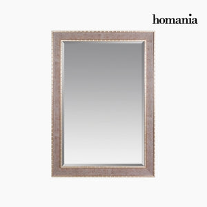 Mirror Synthetic resin Bevelled glass Wood Silver (76 x 3 x 106 cm) by Homania-Universal Store London™