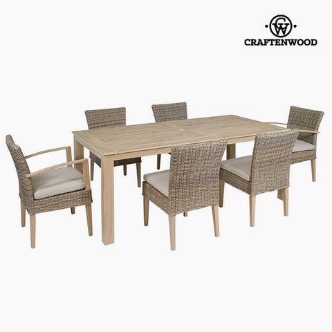 Garden furniture Resin (200 x 102 x 86 cm) by Craftenwood-Universal Store London™