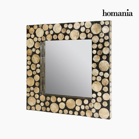 Image of Mirror Mother of pearl (54 x 4 x 54 cm) by Homania-Universal Store London™