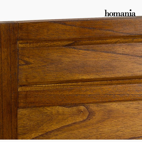 Headboard Mindi wood (100 x 3 x 120 cm) - Serious Line Collection by Homania-Universal Store London™