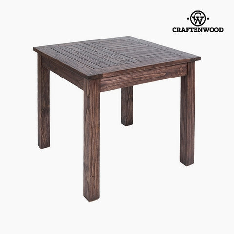 Image of Table Mindi wood (90 x 90 x 78 cm) by Craftenwood-Universal Store London™