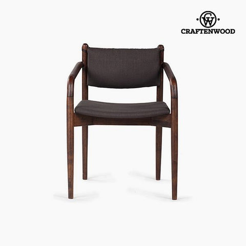 Image of Armchair Mdf Acacia (58 x 56 x 78 cm) by Craftenwood-Universal Store London™