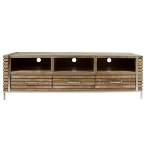 Television stand Teak (3 drawers) (160 x 45 x 51 cm) by Craftenwood