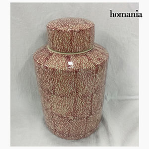 Tibor Stoneware Red (20 x 20 x 32,5 cm) by Homania-Universal Store London™