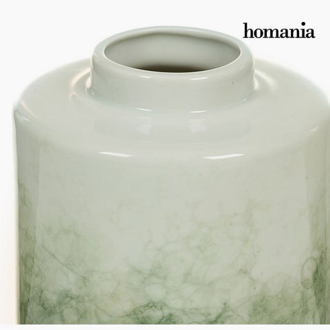 Tibor Stoneware Green (14 x 14 x 19 cm) by Homania-Universal Store London™