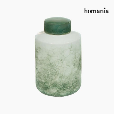 Tibor Stoneware Green (20 x 20 x 32,5 cm) by Homania-Universal Store London™