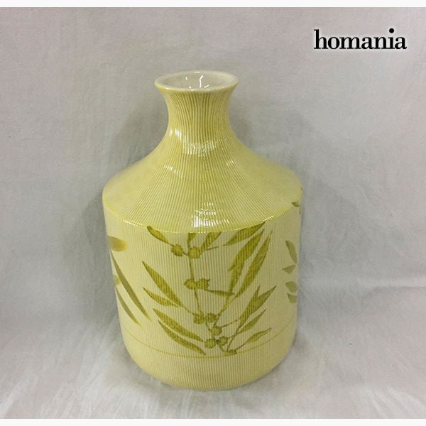 Vase Stoneware (15 x 15 x 23 cm) - Pure Crystal Deco Collection by Homania-Universal Store London™