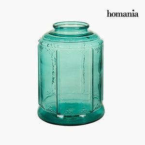 Candelabra Recycled glass (26 x 26 x 36 cm) by Homania-Universal Store London™