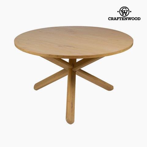Table Mindi wood (130 x 130 x 79 cm) by Craftenwood-Universal Store London™