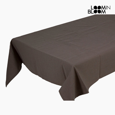 Tablecloth Brown (135 x 200 x 0,05 cm) by Loom In Bloom-Universal Store London™