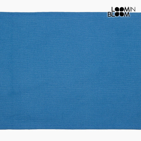 Tablecloth Blue (30 x 45 x 0,05 cm) by Loom In Bloom-Universal Store London™