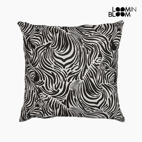 Image of Cushion Zebra (60 x 60 cm) - Jungle Collection by Loom In Bloom-Universal Store London™