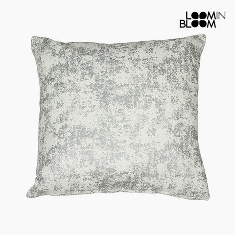 Image of Cushion Silver (45 x 45 cm) - Cities Collection by Loom In Bloom-Universal Store London™