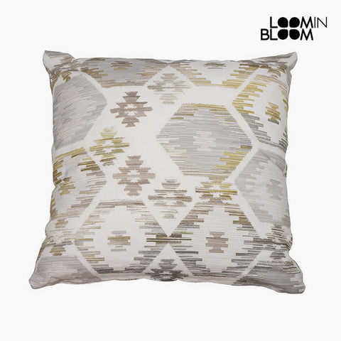 Image of Cushion Grey (45 x 45 cm) - Jungle Collection by Loom In Bloom-Universal Store London™