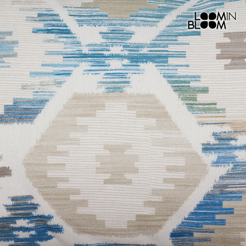 Image of Cushion Blue (50 x 70 cm) - Jungle Collection by Loom In Bloom-Universal Store London™