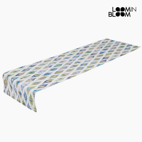 Table Runner Blue (135 x 40 cm) - Little Gala Collection by Loom In Bloom-Universal Store London™