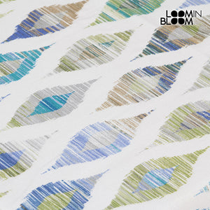 Tablecloth Blue (135 x 200 x 0,05 cm) by Loom In Bloom