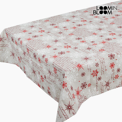 Tablecloth Red (135 x 250 cm) by Loom In Bloom-Universal Store London™