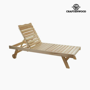 Sun-lounger Aspen wood (184 x 63 x 35 cm) by Craftenwood-Universal Store London™