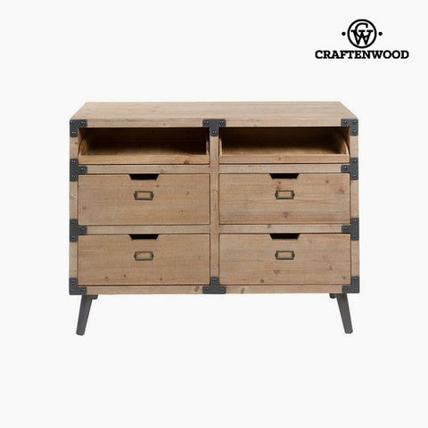 Chest of drawers Fir (100 x 77 x 35 cm) by Craftenwood-Universal Store London™