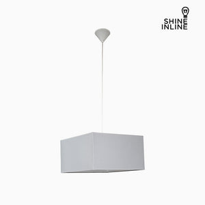 Ceiling Light Grey (40 x 40 x 22 cm) by Shine Inline-Universal Store London™