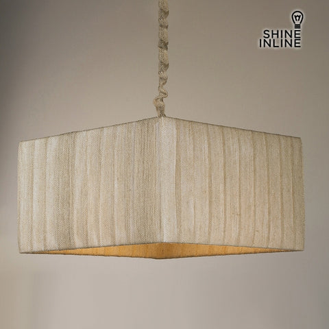 Ceiling Light Cotton Polyester (40 x 40 x 22 cm) by Shine Inline-Universal Store London™