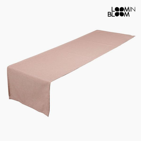 Image of Table Runner Pink (40 x 13 x 0,5 cm) by Loom In Bloom-Universal Store London™