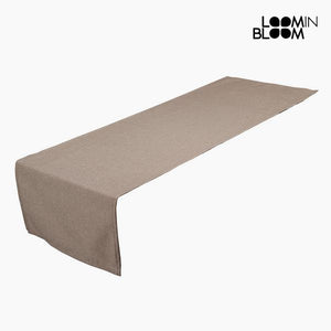 Table Runner Brown (40 x 13 x 0,5 cm) by Loom In Bloom-Universal Store London™