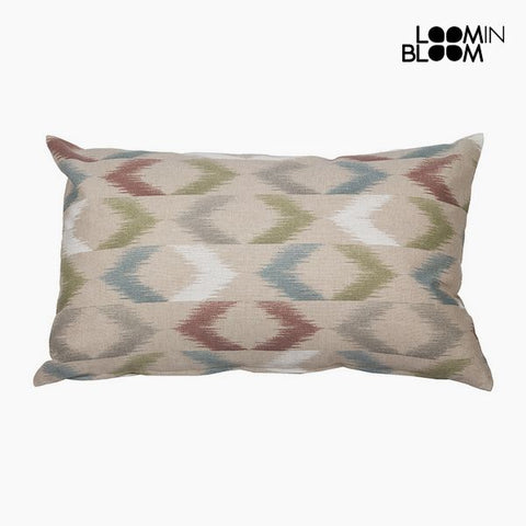 Cushion Cotton and polyester Printed (30 x 50 x 10 cm) by Loom In Bloom-Universal Store London™