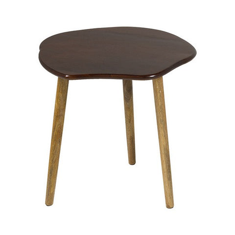 Set of 3 small tables Mango wood-Universal Store London™