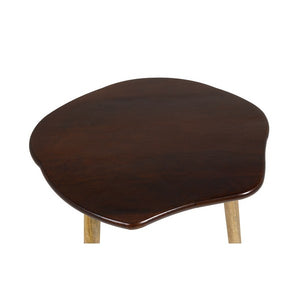 Set of 3 small tables Mango wood