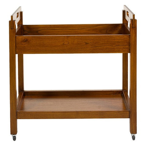 Image of Serving trolley Wood (80 x 45 x 80 cm)-Universal Store London™