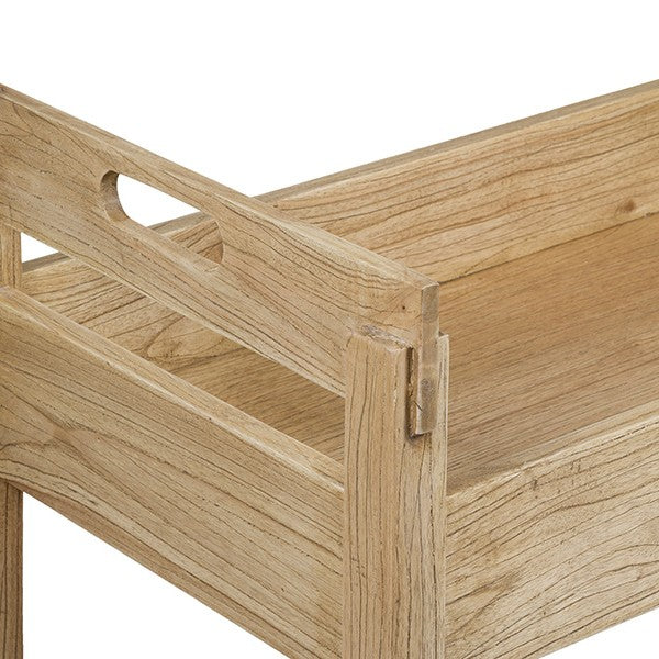 Serving trolley Wood (80 x 45 x 80 cm)-Universal Store London™