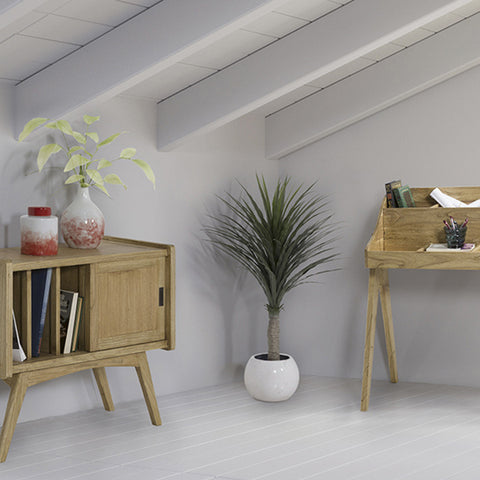 Occasional Furniture Mindi wood Plywood (90 x 38 x 75 cm)-Universal Store London™