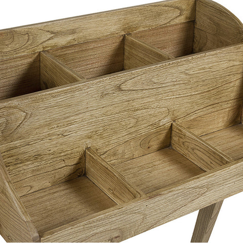 Side Table Mindi wood Plywood (80 x 45 x 102 cm)-Universal Store London™