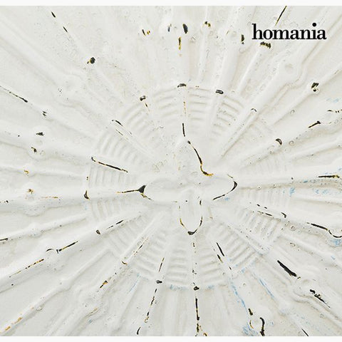 Hanging decoration Circular White Bronze (91 x 109 x 10 cm) by Homania-Universal Store London™